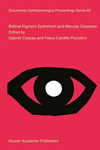 9789401061605: Retinal Pigment Epithelium and Macular Diseases