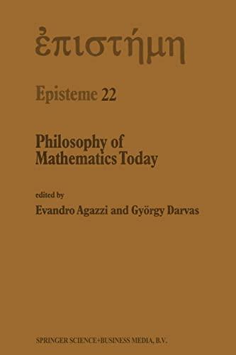 9789401064002: Philosophy of Mathematics Today