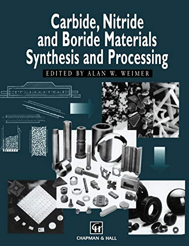 9789401065214: Carbide, Nitride and Boride Materials Synthesis and Processing