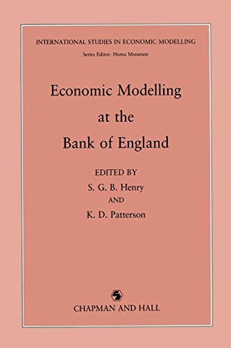 9789401066747: Economic Modelling at the Bank of England (Foundations of Computer Science)