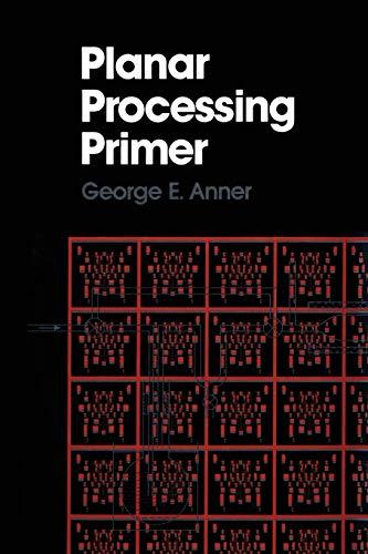 9789401066822: Planar Processing Primer
