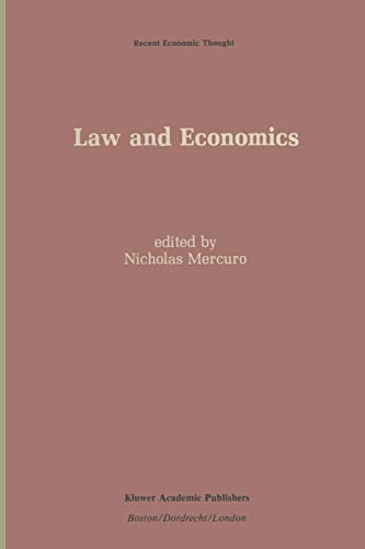 9789401069755: Law and Economics