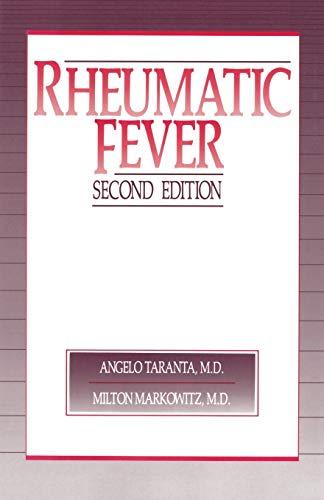 9789401070607: Rheumatic Fever
