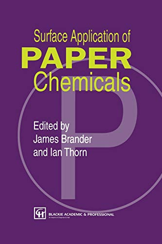 9789401071512: Surface Application of Paper Chemicals