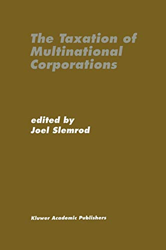 9789401073103: The Taxation of Multinational Corporations