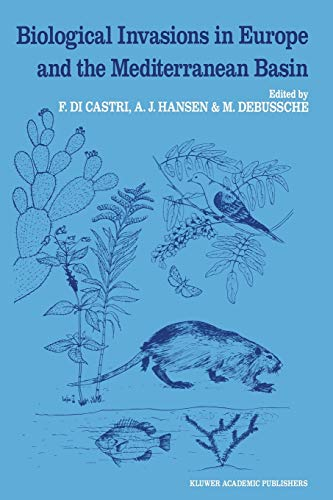 9789401073370: Biological Invasions in Europe and the Mediterranean Basin (Monographiae Biologicae)