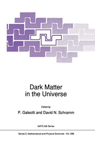 9789401073660: Dark Matter in the Universe (Nato Science Series C:)
