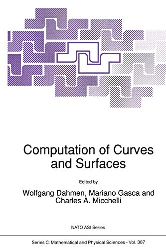 Computation of Curves and Surfaces (Paperback)