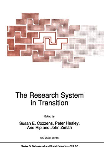 9789401074391: The Research System in Transition (Nato Science Series D:)