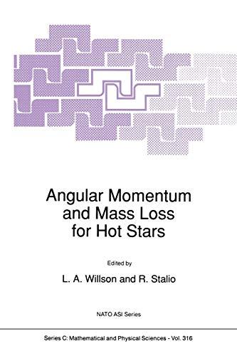 9789401074469: Angular Momentum and Mass Loss for Hot Stars (Nato Science Series C:)