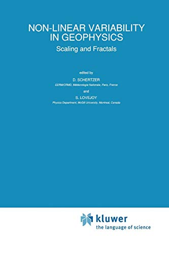 9789401074667: Non-Linear Variability in Geophysics: Scaling and Fractals