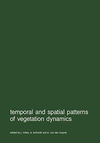 9789401075206: Temporal and Spatial Patterns of Vegetation Dynamics (Advances in Vegetation Science)