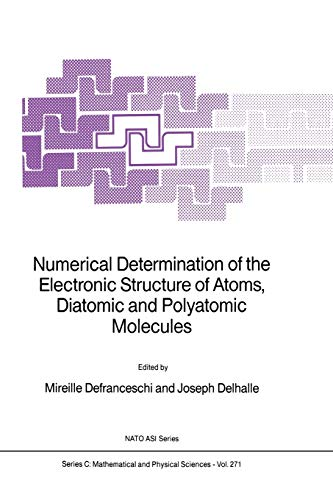 Numerical Determination of the Electronic Structure of: Defranceschi, M.