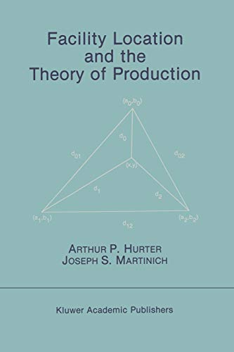 9789401076371: Facility Location and the Theory of Production