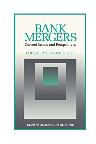 9789401076401: Bank Mergers: Current Issues and Perspectives (Innovations in Financial Markets and Institutions)
