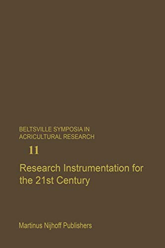 9789401077347: Research Instrumentation for the 21st Century (Beltsville Symposia in Agricultural Research)