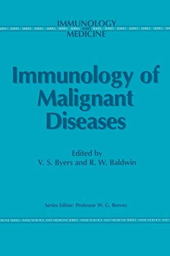 Immunology of Malignant Diseases (Immunology and Medicine): Springer
