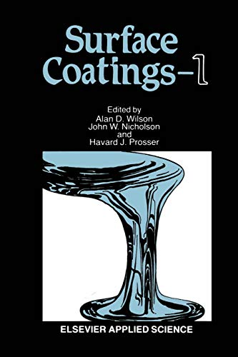 9789401080408: Surface Coatings―1