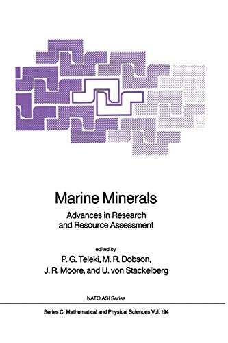 9789401081924: Marine Minerals: Advances in Research and Resource Assessment (Nato Science Series C:)