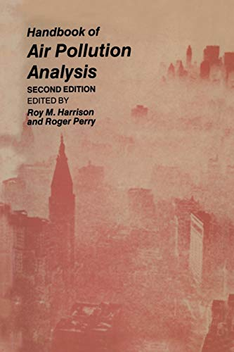 9789401083119: Handbook of Air Pollution Analysis