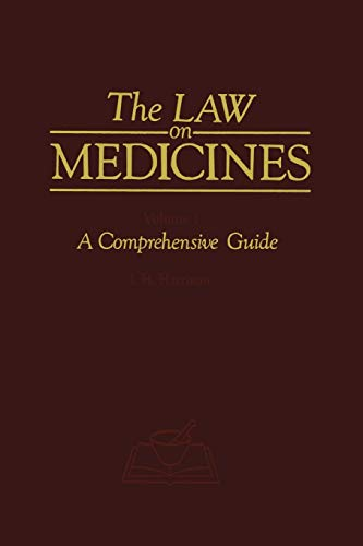 9789401083379: The Law on Medicines: Volume 1 A Comprehensive Guide