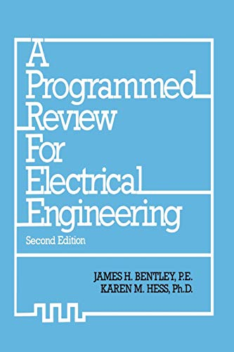 9789401086516: A Programmed Review for Electrical Engineering