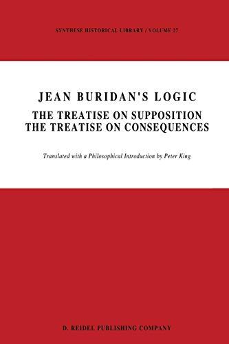 Jean Buridan s Logic: The Treatise on