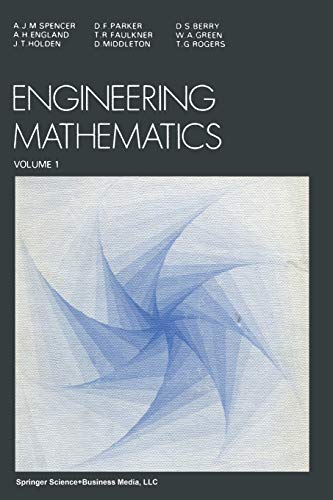 9789401093132: Engineering Mathematics: Volume 1