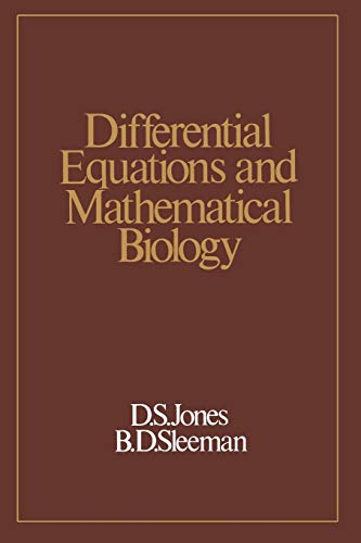 9789401159722: Differential Equations and Mathematical Biology