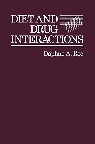 9789401160490: Diet and Drug Interactions