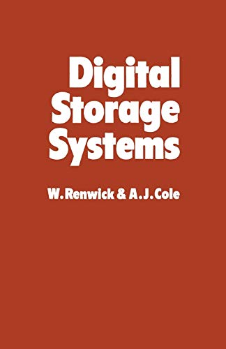 9789401168892: Digital Storage Systems