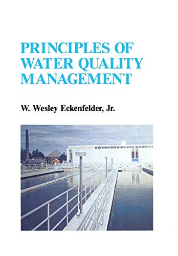 9789401171175: Principles of Water Quality Management