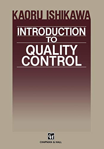 9789401176903: Introduction to Quality Control