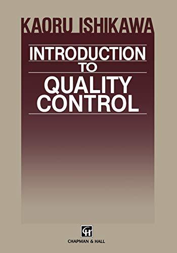 Introduction to Quality Control (Paperback): Kaoru Ishikawa