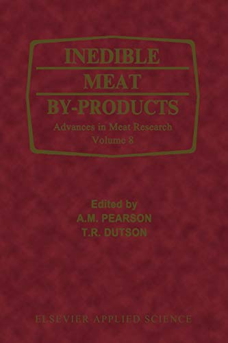 9789401179355: Inedible Meat by-Products (Advances in Meat Research)