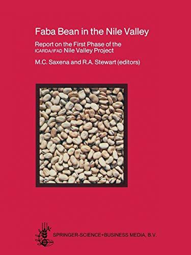 Faba Bean in the Nile Valley : Saxena, Mohan C.