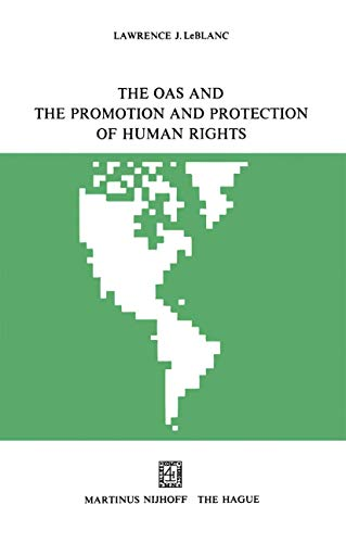 9789401186957: The OAS and the Promotion and Protection of Human Rights