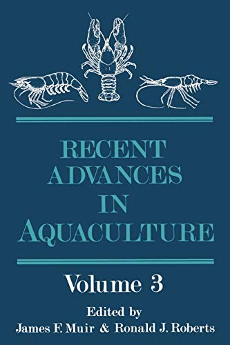 9789401197458: Recent Advances in Aquaculture: Volume 3