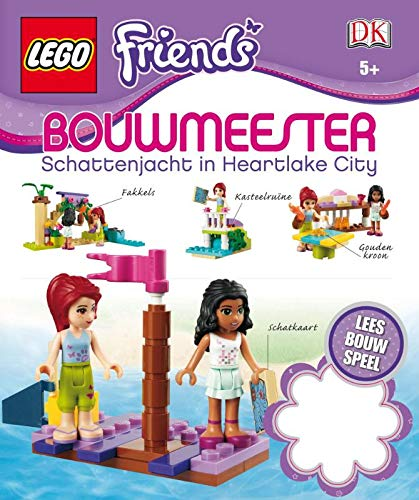 9789401401517: Lego friends bouwmeester: schattenjacht in Heartlake city