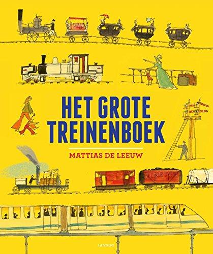 9789401420624: Het grote treinenboek