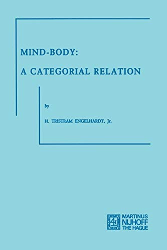 9789401502498: Mind-Body: A Categorial Relation