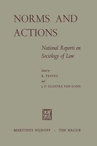 9789401502672: Norms and Actions: National Reports on Sociology of Law