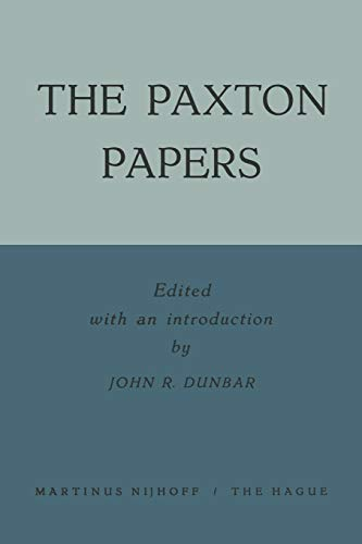 9789401504003: The Paxton Papers