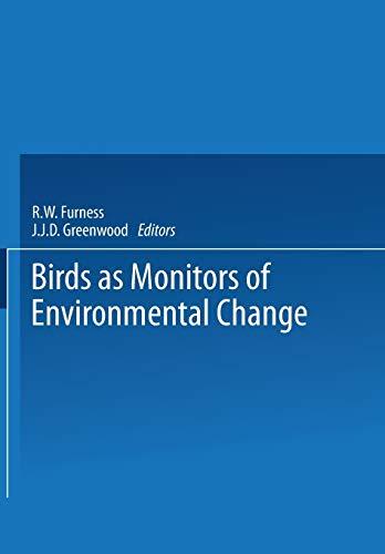 9789401513241: Birds as Monitors of Environmental Change