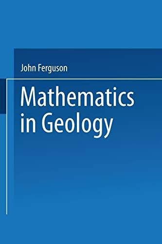 9789401540117: Mathematics in Geology