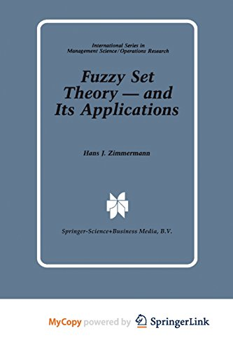 9789401571548: Fuzzy Set Theory - and Its Applications