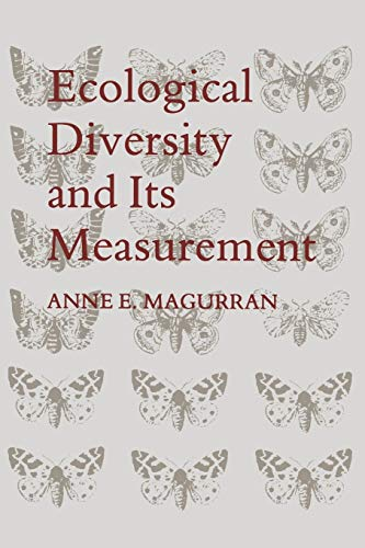 9789401573603: Ecological Diversity and Its Measurement