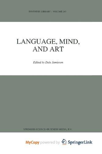 9789401583145: Language, Mind, and Art
