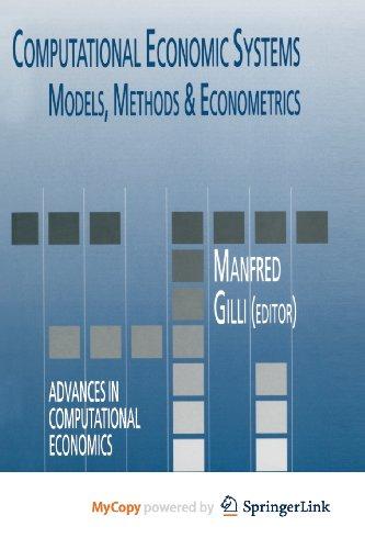 9789401587440: Computational Economic Systems