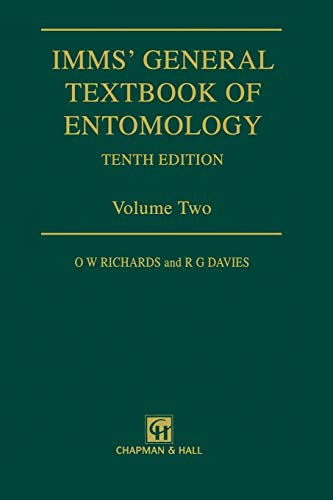 Imms General Textbook of Entomology: Volume 2: O. W. Richards,